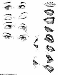 women s mouth eyes aren t they sometimes the hardest thing to draw