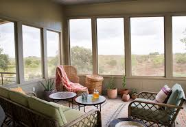 steal this look a bohemian screened porch in texas