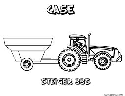 Coloriage Tracteur Dessin Imprimer Gratuit