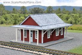model railroad and diorama trackside plans in ho scale o oo