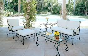 white wrought iron garden furniture. Modern Patio And Furniture Medium Size Outdoor Wrought Iron  Chair Chairs White Cushions . White Wrought Iron Garden Furniture