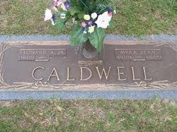 Myra Jean Caldwell (1930-1987) - Find A Grave Memorial