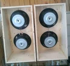 1 Paar U-Frame Bass Dipole mit je 2*OBW1206 in Altona - Hamburg Iserbrook    Lautsprecher & Kopfhörer gebraucht kaufen