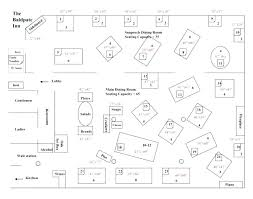 Restaurant Table Layout Banquet Room Cafeteria Table Aisle Spacing