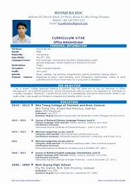 Create bold titles to delineate each biosciences, then write short paragraphs or bulleted lists to showcase what does a good example cv look like? Biotechnology Resume Example Fresh Graduates Unique Cv Resume Sample For Fresh Graduate Of Office Administratio Cv Resume Sample Job Resume Job Resume Examples