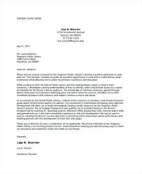Cover Letter Reference Public Librarian Cover Letter Resume And ...