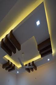 House Ceiling Design Work Yellow Ceiling Work Completed In Ernakulam Inframall In 2019