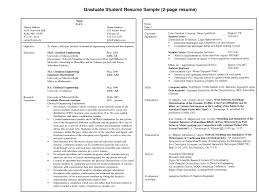 Download Two Page Resume Sample Haadyaooverbayresort Com
