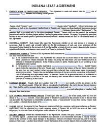 Standard Commercial Lease Agreement Free Lease Forms Under Fontanacountryinn Com