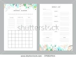 Weekly To Do List 1 Sheet Printable Organization By Planner Template ...