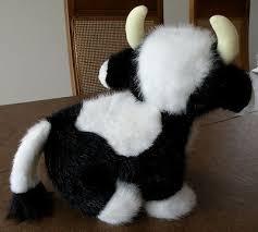 russ plush cow stuffed moo moo w