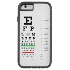Snellen Eye Chart For Phone Snellen Eye Chart Case Mate Iphone Case