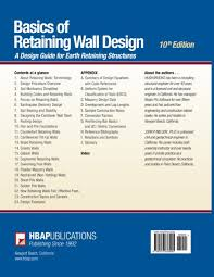 Small Picture Basics of Retaining Wall Design 10th Edition Mr Hugh Brooks Mr