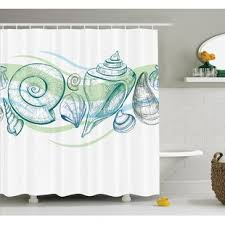 Seashell Design Seashell Curtains Wayfair