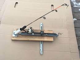 Homemade Tip Up Designs Auto Fisherman Hook Setter 8 Steps With Pictures