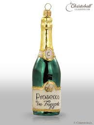 Christoball Imagine Weihnachtsform Aus Glas Flasche Prosecco