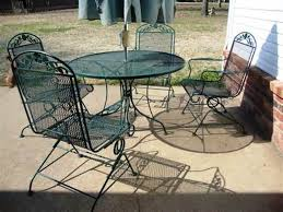 1326 Best Vintage Wrought Iron Patio Furniture Images On Pinterest Woodard Wrought Iron Outdoor Furniture