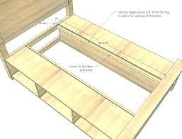 storage bed plans. Modren Plans Gorgeous Plans For Platform Bed Queen Storage  Size Inside Storage Bed Plans V