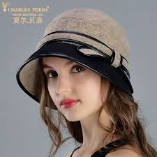 <b>Charles Perra</b> Brand Women <b>Hat</b> Autumn Winter Female Elegant ...