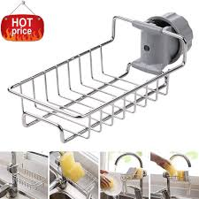 Amazoncom Kitchen Faucet Sponge Holderstainless Steel Faucet
