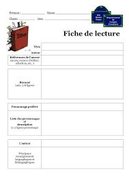 Fiche De Lecture