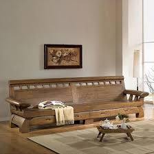 korean old elm antique furniture solid wood sofa living