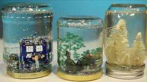 Ways To Decorate Glass Jars Mason Jar Snow Globe DIY YouTube 78