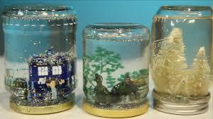Ways To Decorate Glass Jars Mason Jar Snow Globe DIY YouTube 78