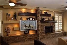 Small Picture Media Wall 2 Contemporary Family Room Phoenix by