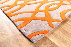 black and orange rug area rugs bright colors colored