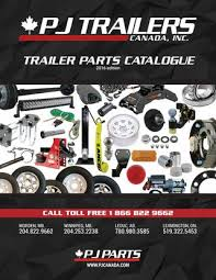 pj trailers canada trailer parts catalogue by pj trailers canada Pj Trailer Wiring Diagram trailer parts catalogue 2016 edition pj trailer wiring diagram