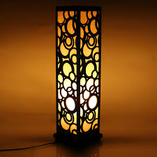 lighting for home decoration. 001 9 600x600 - Wooden Carved Floor Lamp 26 Inch Indoor Lighting / Home Decorative For Decoration N
