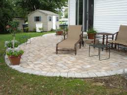 square paver patio with fire pit. Paver Patio Ideas Diy Garden Design With Square Fire Pit