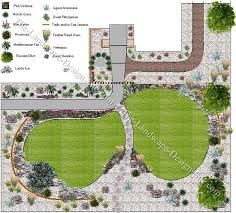 Small Picture A Mediterranean Front Yard Plan
