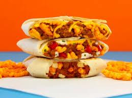 taco bell crunchwrap sliders.  Crunchwrap Taco Bell Canadau0027s New Cheetos Crunchwrap On Crunchwrap Sliders O