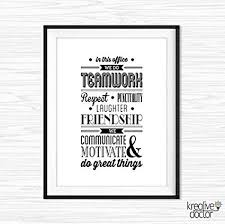 inspirational office decor. Interesting Decor Teamwork Quotes For Office In This Quote Inspirational Wall  Art Motivational Decor Printable For A