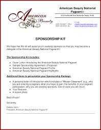 Sponsorship Resume Templates Memberpro Co Mx Sample Corporate