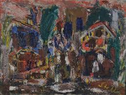 Häusergruppe by Walter Arnold Steffen on artnet