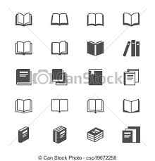 book flat icons csp19672258