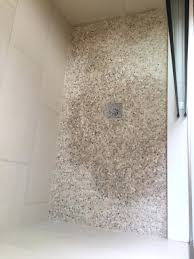 how to grout a shower how do seal this mini pebble shower floor with regard to how to grout a shower