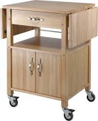 Kitchen Cart With Doors Remarkable Rolling Kitchen Cabinet Pics Decoration Ideas Andrea