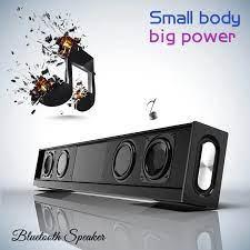 20W güçlü kablosuz Bluetooth hoparlör ev sineması Soundbar taşınabilir  süper bas ses kutusu TV hoparlörler Subwoofer sütun|Soundbar