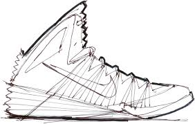 nike shoes drawings. pin drawn converse nike sneaker #10 shoes drawings r