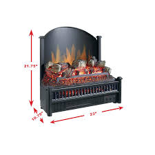 full image for pleasant hearth 23 in electric fireplace logs heater included duraflame 20 1 2