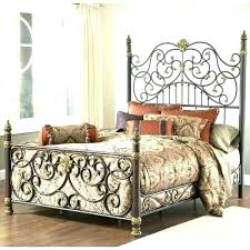wrought iron king bed. King Wrought Iron Bed Frame .