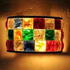 sconces colored glass wall sconces handmade mirror front multi color stained glass wall sconce colored