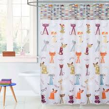 saay knight hipster paws fabric shower curtain altmeyer s bedbathhome