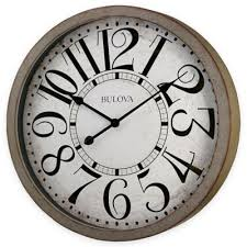 bed bath and beyond decorative wall clocks