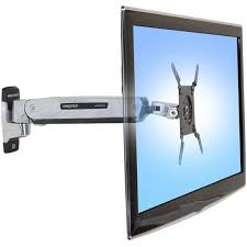 ergotron 45 361 026 height adjule wall mount arm for tv ld
