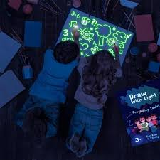 Kids Light Board Light Drawing Fun And Developing Toy